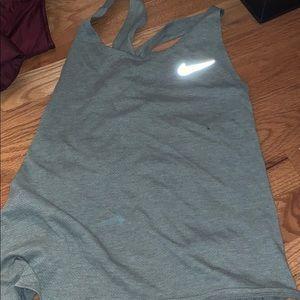 Nike criss-cross running tank